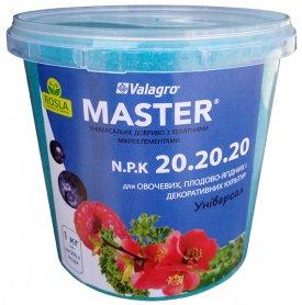 Комплексное минеральное удобрение Master (Мастер), 1кг, NPK 20.20.20, TM ROSLA (Росла) фото