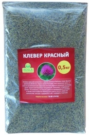 Семена клевера красного, 0.5кг, TM ROSLA (Украина) фото