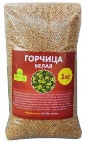 Семена белой горчицы, 1кг, TM ROSLA (Росла) фото