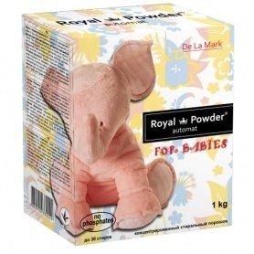 Бесфосфатный стиральный порошок для детских вещей, 1кг, Royal Powder фото