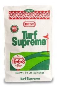 Комплексное минеральное удобрение Turf Supreme (Тюрф Суприм), 22.7кг, 16.6.8, Весна, Simplot (Симплот) фото