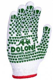 Перчатки с ПВХ с 2 сторон, Doloni, 580 фото