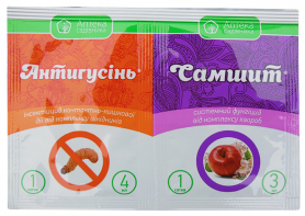 Инсектицид Антигусеница 4мл + Самшит 3мл фото