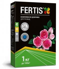 Комплексное минеральное удобрение для роз Fertis (Фертис), 1кг, NPK 12.8.16+МЕ фото