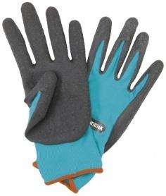 Перчатки для работы с грунтом, размер М, Gardena, 00206 фото