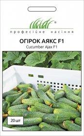 Семена огурца Аякс F1, 20шт, Nunhems, Голландия, Професійне насіння фото