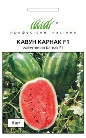 Семена арбуза Карнаката (Карнак) F1, 8шт, United Genetics, Италия, Професійне насіння фото