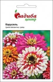 Семена циннии Карусель, 0.5г, Hem, Голландия, Садиба Центр фото