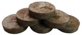 Торфяная таблетка Jiffy (Джиффи), 100шт, 33мм, TM ROSLA (Росла) фото
