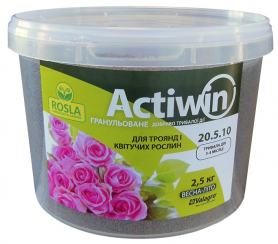 Комплексное минеральное удобрение для роз Actiwin (Активин), 2.5кг, NPK 20.5.10+ME, Весна-Лето, 3-4 мес., TM ROSLA (Росла) фото